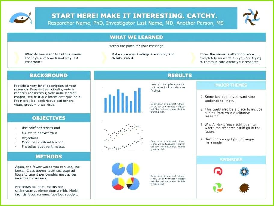 Powerpoint Poster Template New ¢Ë†Å¡ Powerpoint Poster Templates A1 Poster Presentation Template Fresh