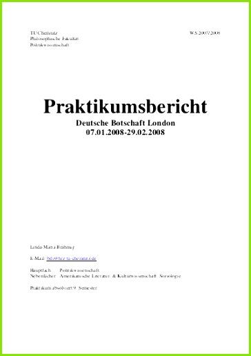 Praktikumsmappe Vorlage Pdf 21 Das Neueste Praktikumsmappe Deckblatt Vorlage Idee