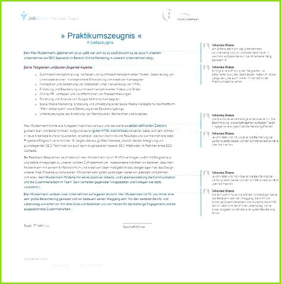 Arbeitszeugnis formulierungen Muster Zwischenzeugnis Muster Pdf Klug Praktikumszeugnis Vorlage Pdf