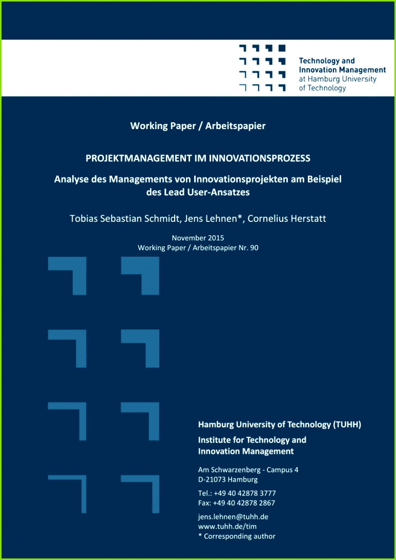 PDF Implementation of lead users into management practice – A literature review of publications in business press