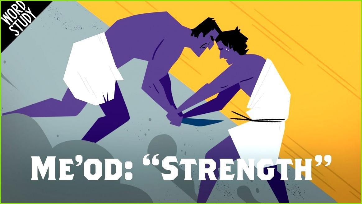 "Word Study Me od ""Strength"""