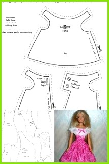 Free Printable Doll Clothes Patterns Bing images