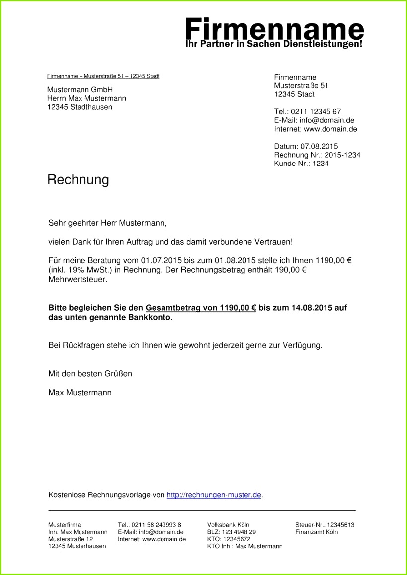 Formular Rechnung Kleinunternehmer Ohne Mehrwertsteuer Beste Rechnung Ohne Mwst Brief Bauknecht Kgnf 20p 0d A3 In