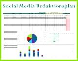 socialmedia redaktionsplan
