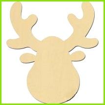 Ein Elch oder Hirschgeweih zum selber gestalten Hirsch Basteln Hirschgeweih Adventszeit Weihnachtszeit