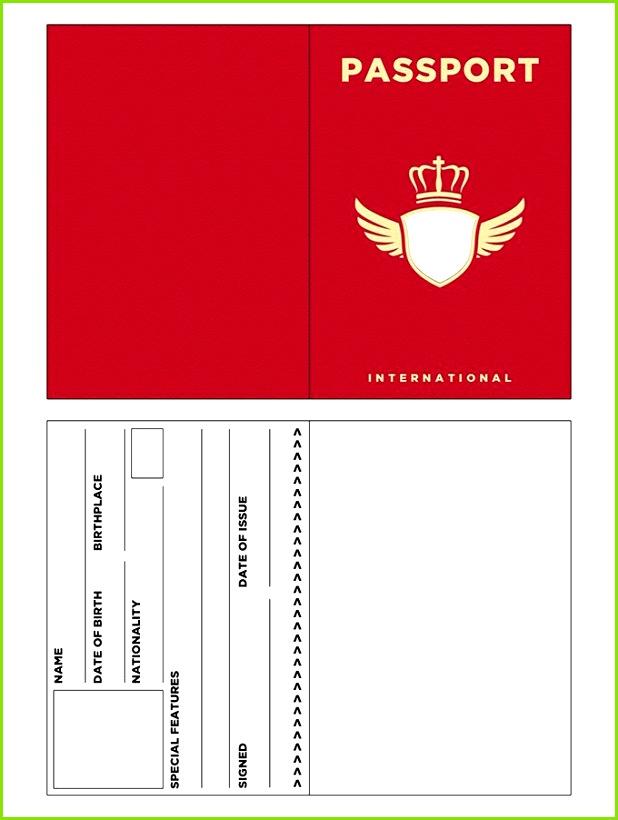 Passport Template – 19 Free Word PDF PSD Illustrator