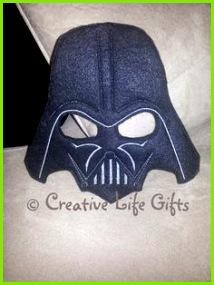 Darth Vader inspiriert gefühlt Maske von CreativeLifeGifts auf Etsy Star Wars Masken Fasching Kinder