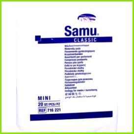 Abbildung SAMU Wöchnerinnen Vorlagen classic mini 20 St