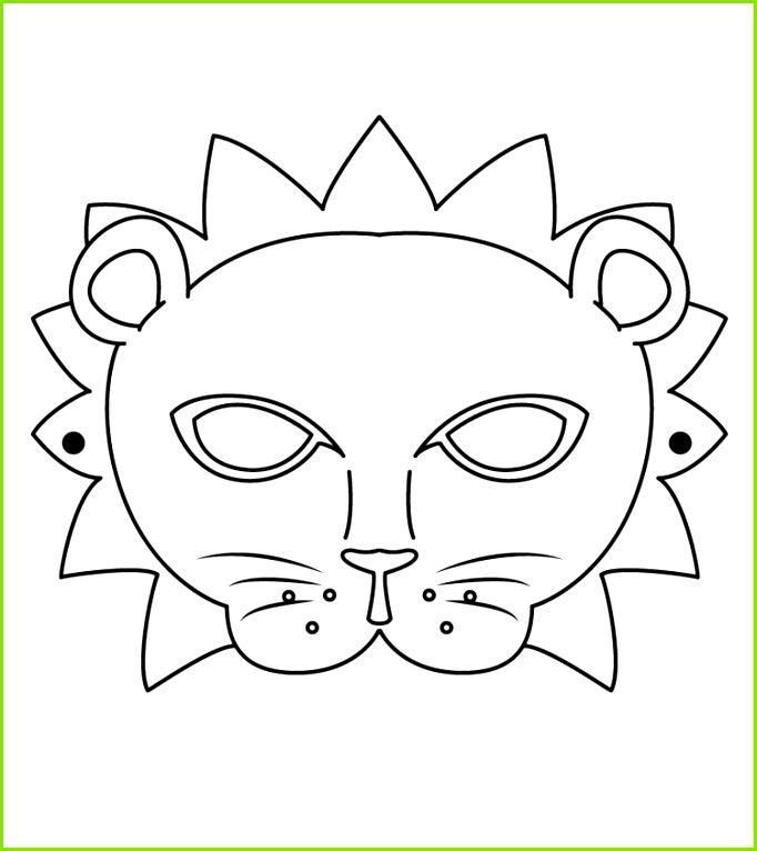 Schaf Schablone Zum Ausdrucken Luxe Kinder Fasching Maske 22 Ideen Zum Basteln &