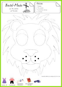 Diese Maske macht Sie stolz wie ein Löwe