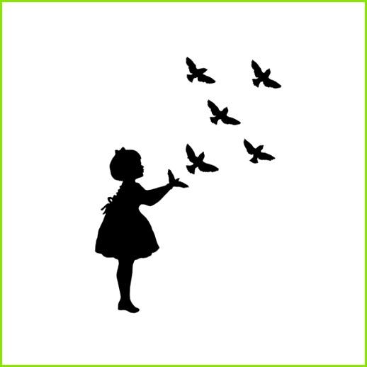 Sterntaler Scherenschnitt Vorlage Bewundernswert Vogel Schatten Marionette Silhouette Print Schwarz Weiß