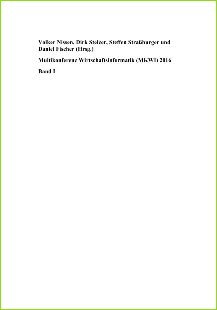 PDF Referenzarchitektur eines Ressourcen Cockpits zur Unterstützung der Instandhaltung