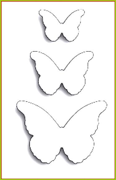 Schmetterlinge Schablonen Zum Ausdrucken Kostenlos Rooms Project