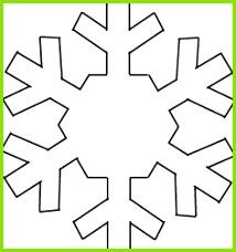sister outlaws Christmas craft Paper Eisprinzessin Schneeflocke Vorlage Schablonen Weihnachten Schneeflocken