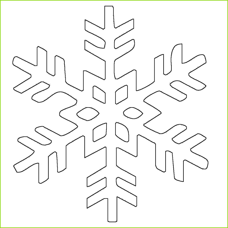Ausmalbild Schneeflocken und Sterne Kostenlose Malvorlage Schneeflocke 8 kostenlos ausdrucken