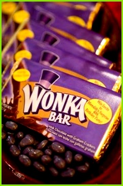 Willy Wonka Candy Bar Wrapper Template