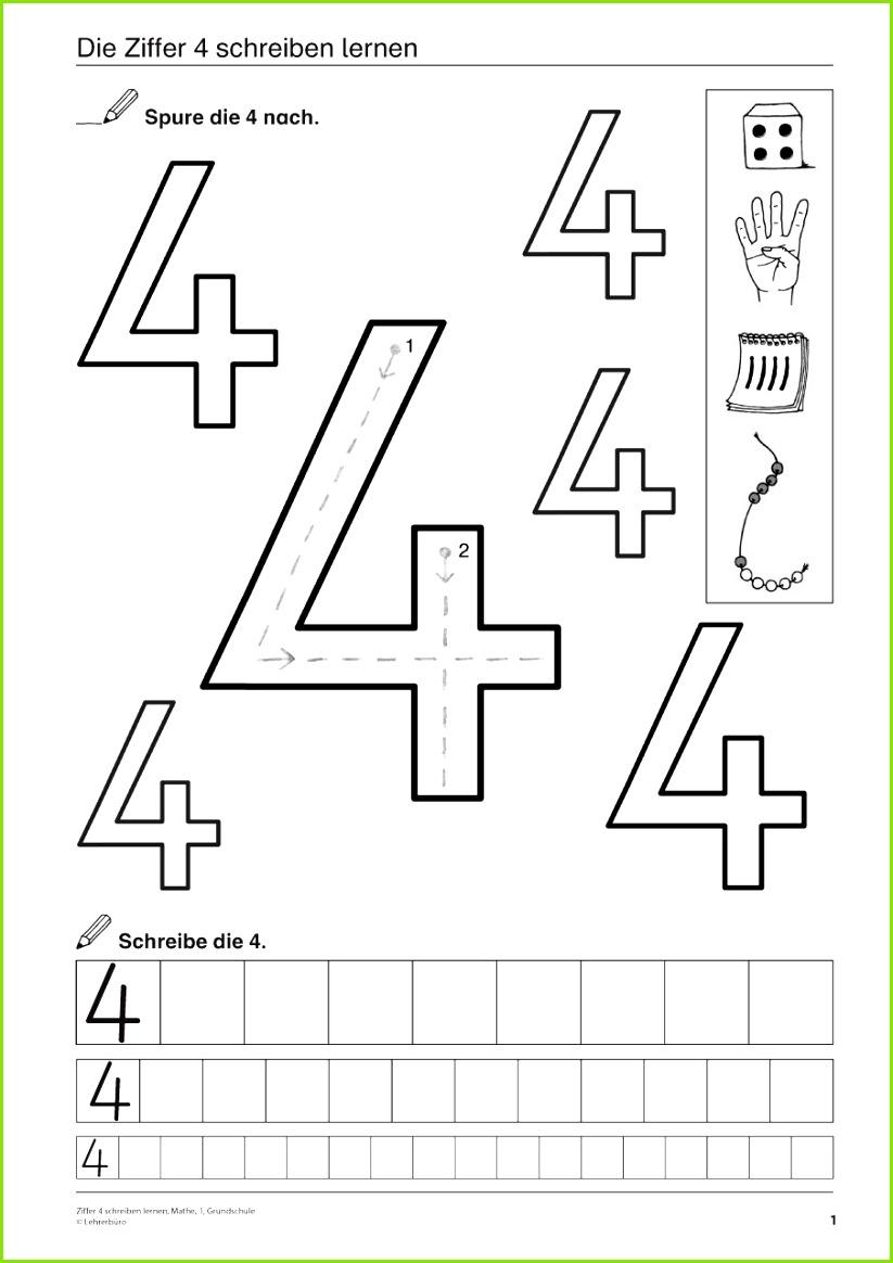 Unterrichtsmaterialien & Videoclips · Grundschule · Lehrerbüro Zahlen Lernen Vorschule Schwungübungen Vorschule Zahlen Schreiben