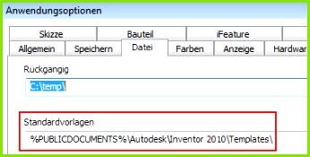 Wenn mehrere Anwender selben Vorlagen verwenden sollen was sicherlich sinnvoll ist dann Vorlagen auf ein Netzlaufwerk kopieren und den Pfad zu
