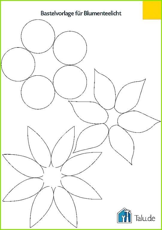 Seerose Basteln Die Im Wasser Aufgeht Vorlage Schöne Teelichthalter Aus Papier Basteln – 4 Bastelanleitungen