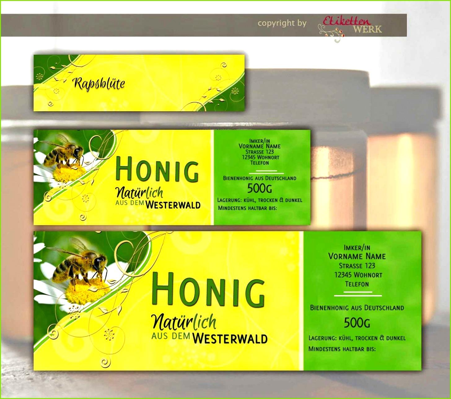 Honig Etiketten Vorlagen Herunterladbare Sektetiketten Selbst Gestalten Frisch Etiketten Selbst Gestalten 25 Editierbar Honig Etiketten
