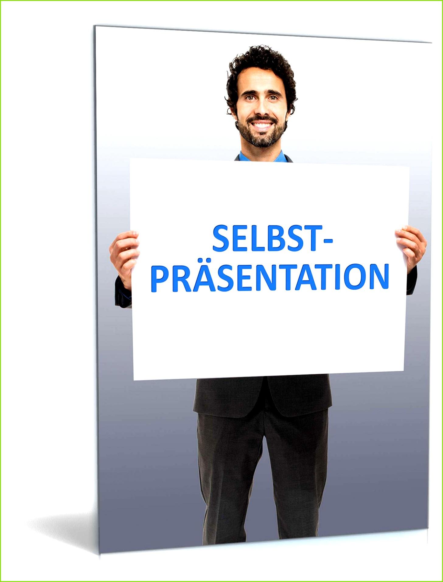 PowerPoint Vorlage Selbstpräsentation