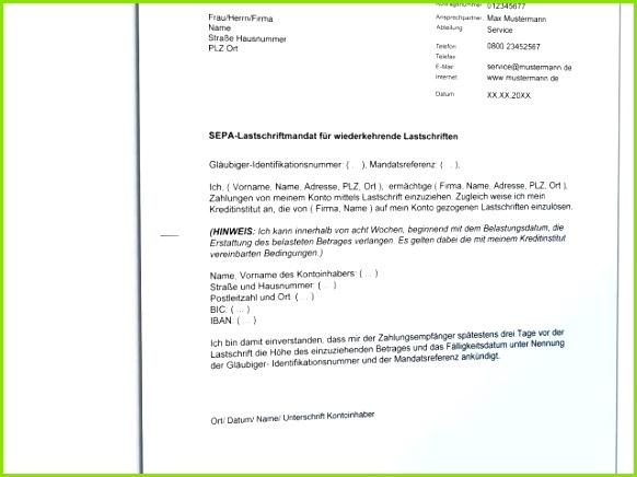 Sepa Mandat Vorlage Herunterladen Sepa Mandat Vorlage Außerordentliche Sepa Lastschriftmandat Vorlage Sparkasse
