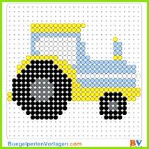 Traktor Bügelperlen Vorlage Auf buegelperlenvorlagen kannst du eine große Auswahl an Bügelperlen Vorlagen