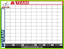 Printable 2019 Super Bowl Squares template for your work place or Super Bowl party