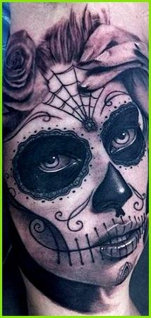 Sugar Skull Girl dirk weirich · Totenmaske