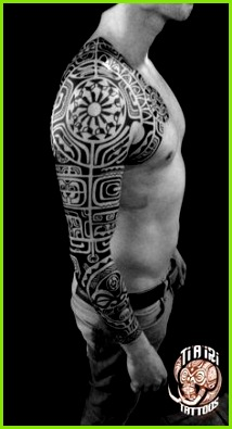 Polynesian Sleeves Arm Tattoos Ti a iri Polynesian Tattoo Idee Tattoo