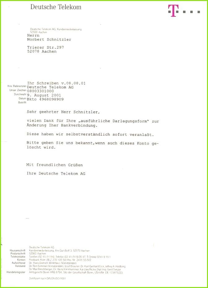 13 Kründigung Telekom Vorlage Word