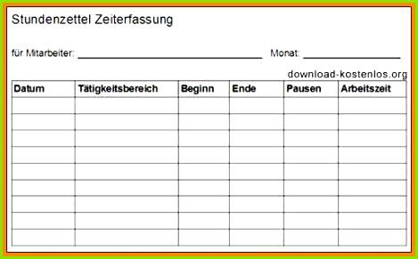 Arbeitszeiten Excel Vorlage Idee Excel Zeiterfassung Vorlage Elegant Excel Vorlage überstunden – De