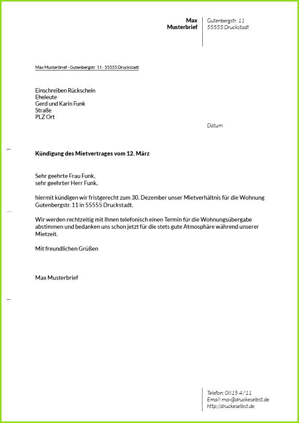 10 mietvertrag vorlage pdf