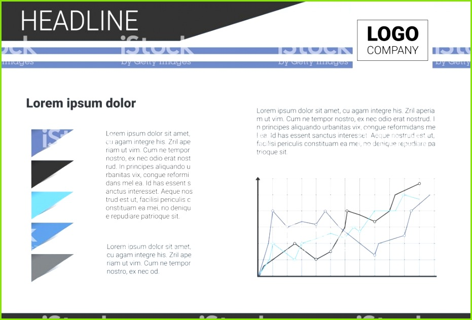 Template Design Broschüre Geschäftsbericht Magazine Poster Unternehmenspräsentation Portfolio Flyer mit