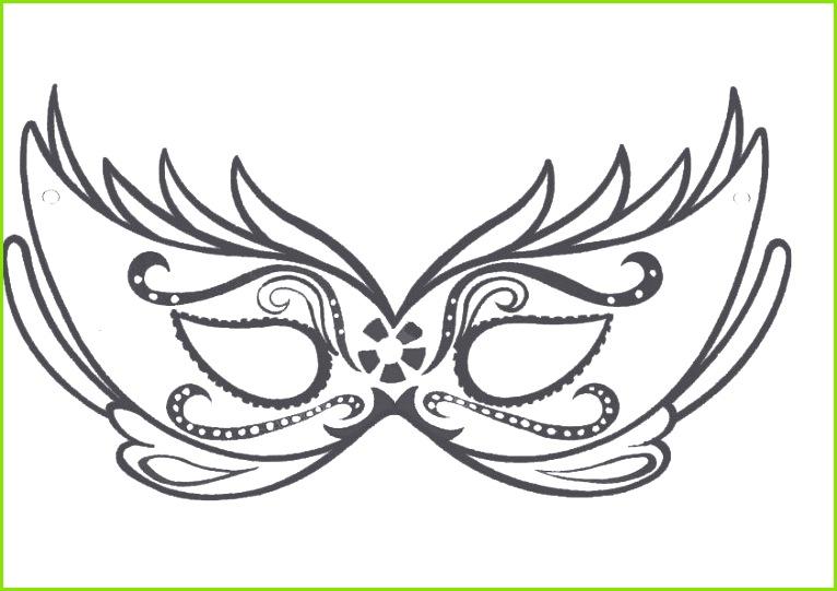 Niedlich Venezianische Masken Vorlage Galerie Beispiel