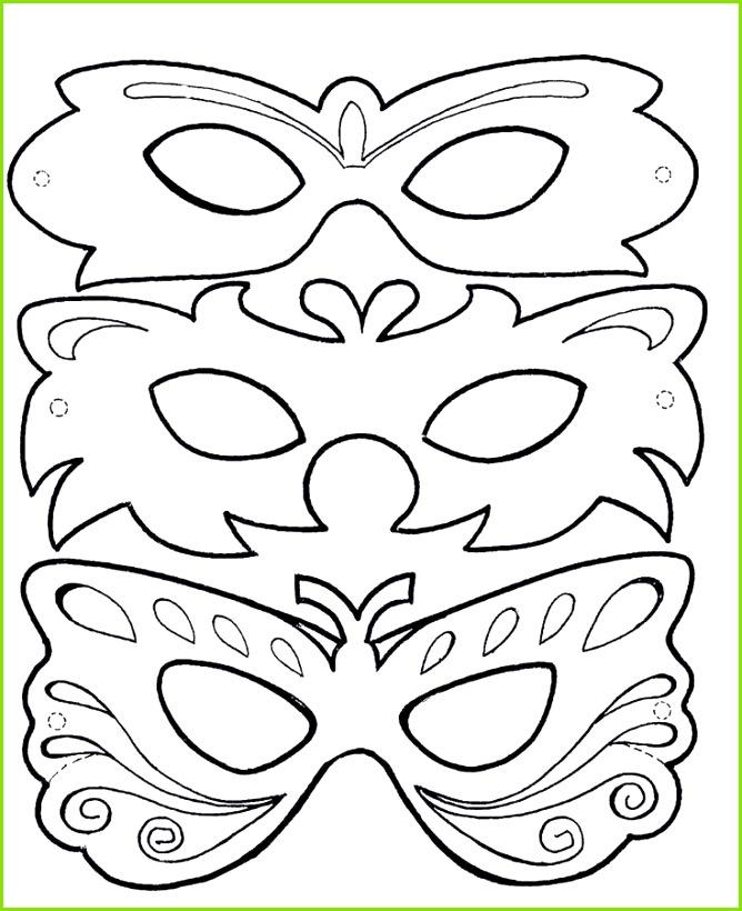 Venezianische Masken Vorlagen Zum Ausdrucken Tiermasken Basteln Vorlagen Ausdrucken Einzigartig Faschingsmasken