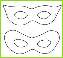 Kinder Fasching Maske 22 Ideen zum Basteln & Ausdrucken