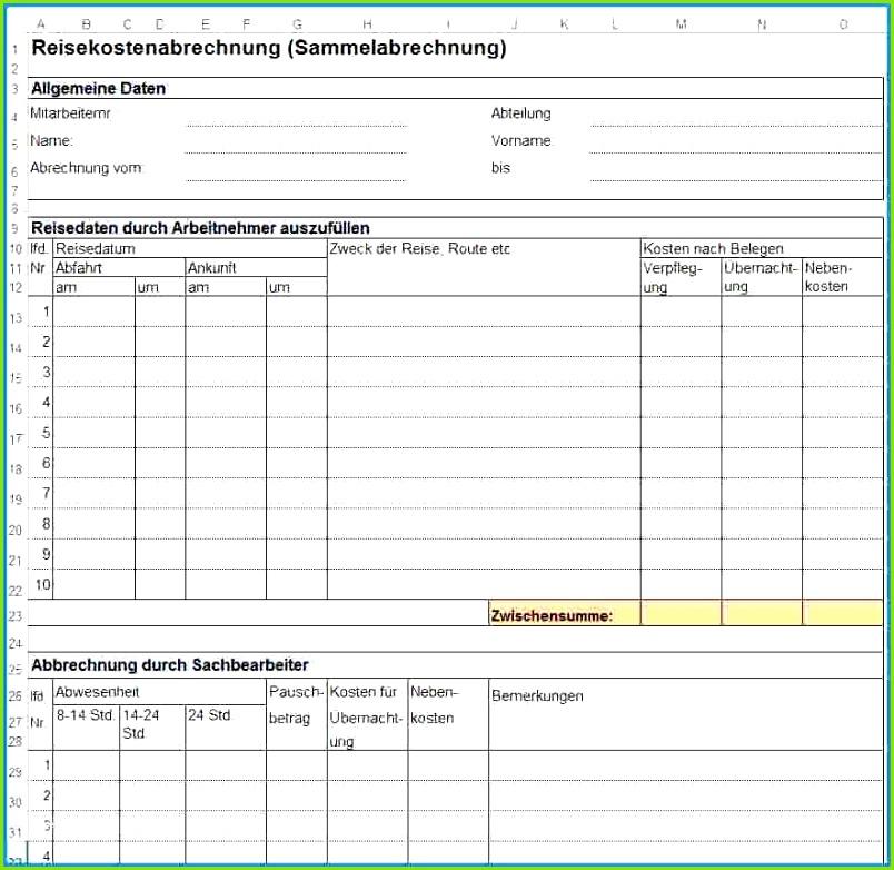 Verpflegungsmehraufwand Excel Vorlage Kostenlos Design 29 Neu Reisekostenabrechnung Schreiben Vorlage Verpflegungsmehraufwand