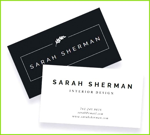 Business Card Template For Word and Pages Instant Download