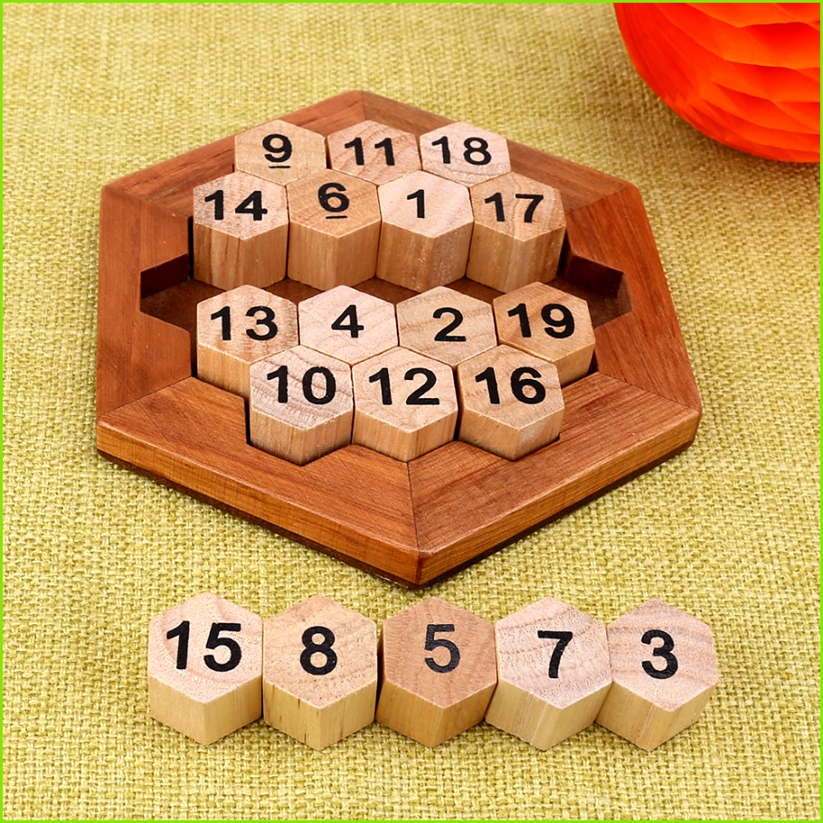 Children Brain Teaser Wooden Number Board Kids Montessori Math Game Educational Plate Toy Intellectual Learning Teaching Aids us323