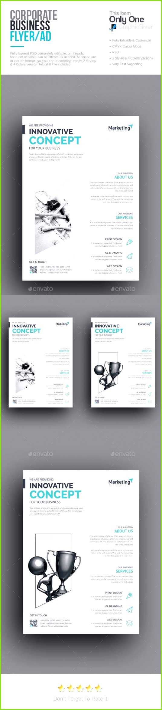 Corporate Flyer Template Psd Download Here Http Graphicriver Net Business Flyer Template