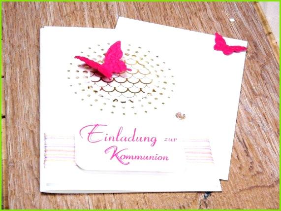 Einladung Zur Konfirmation Muster Einladungen Einladung Schmetterling Kommunion Konfirmation Od