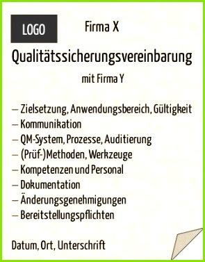 Qualitätssicherungsvereinbarung QSV