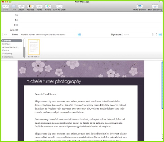 Image result for How to create templates for Apple Mail