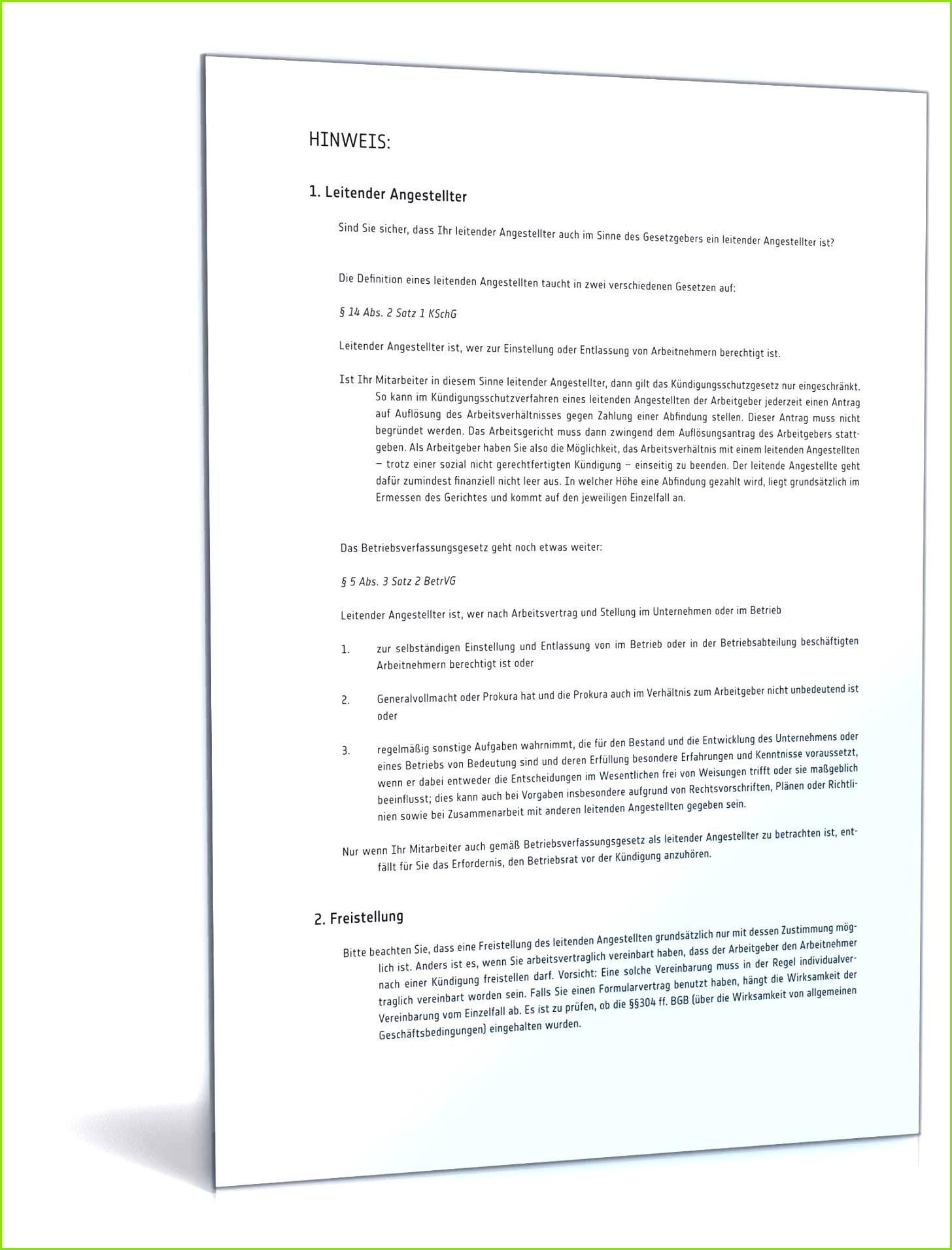 Betriebsrat Vereinbarung Unique Die Fabelhaften Aufhebungsvertrag Durch Arbeitnehmer Muster
