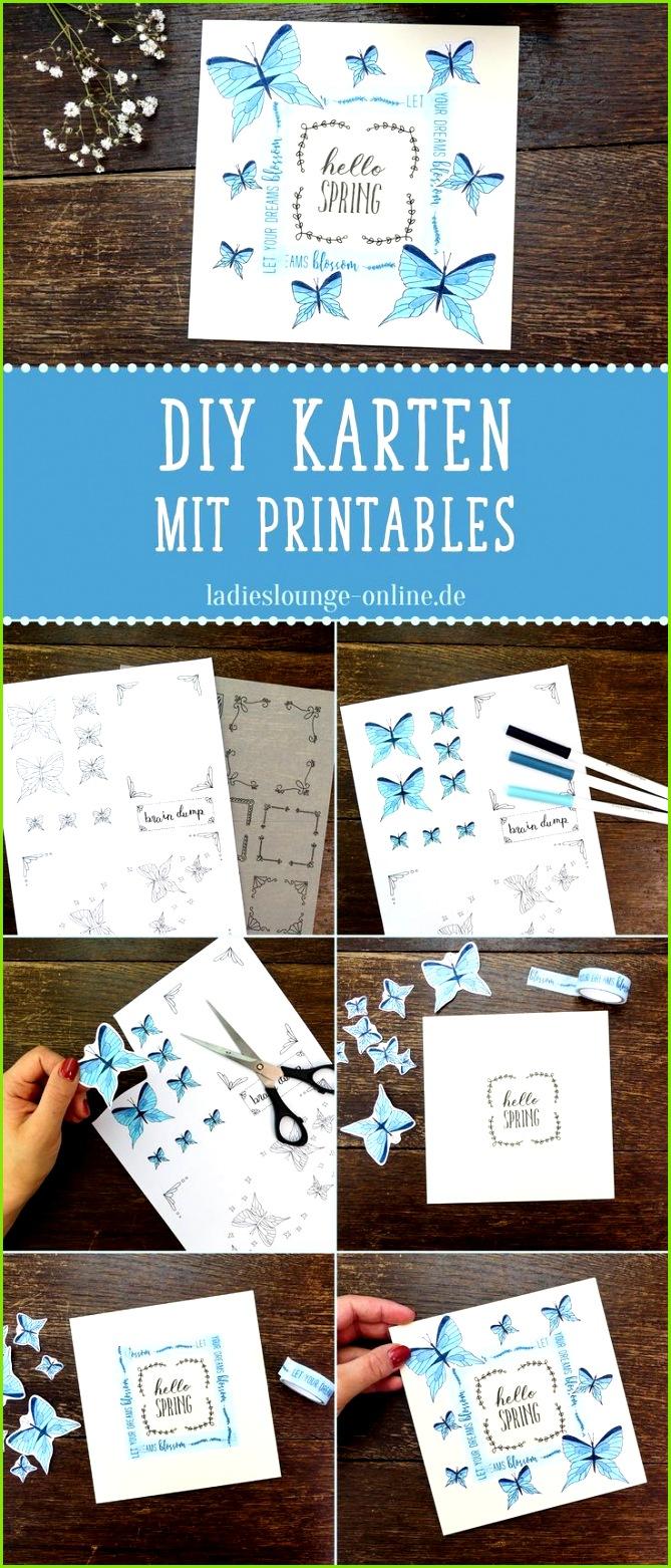 KARTEN BASTELN DIY Gestalte schöne Karten mit den handmade Vorlagen von La s Lounge Einfach ausdrucken