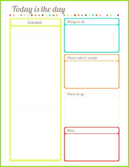 LALOLE BLOG AYUDA PARA MANTENER TUS PLANES EN ORDEN Planner Template Free Planner