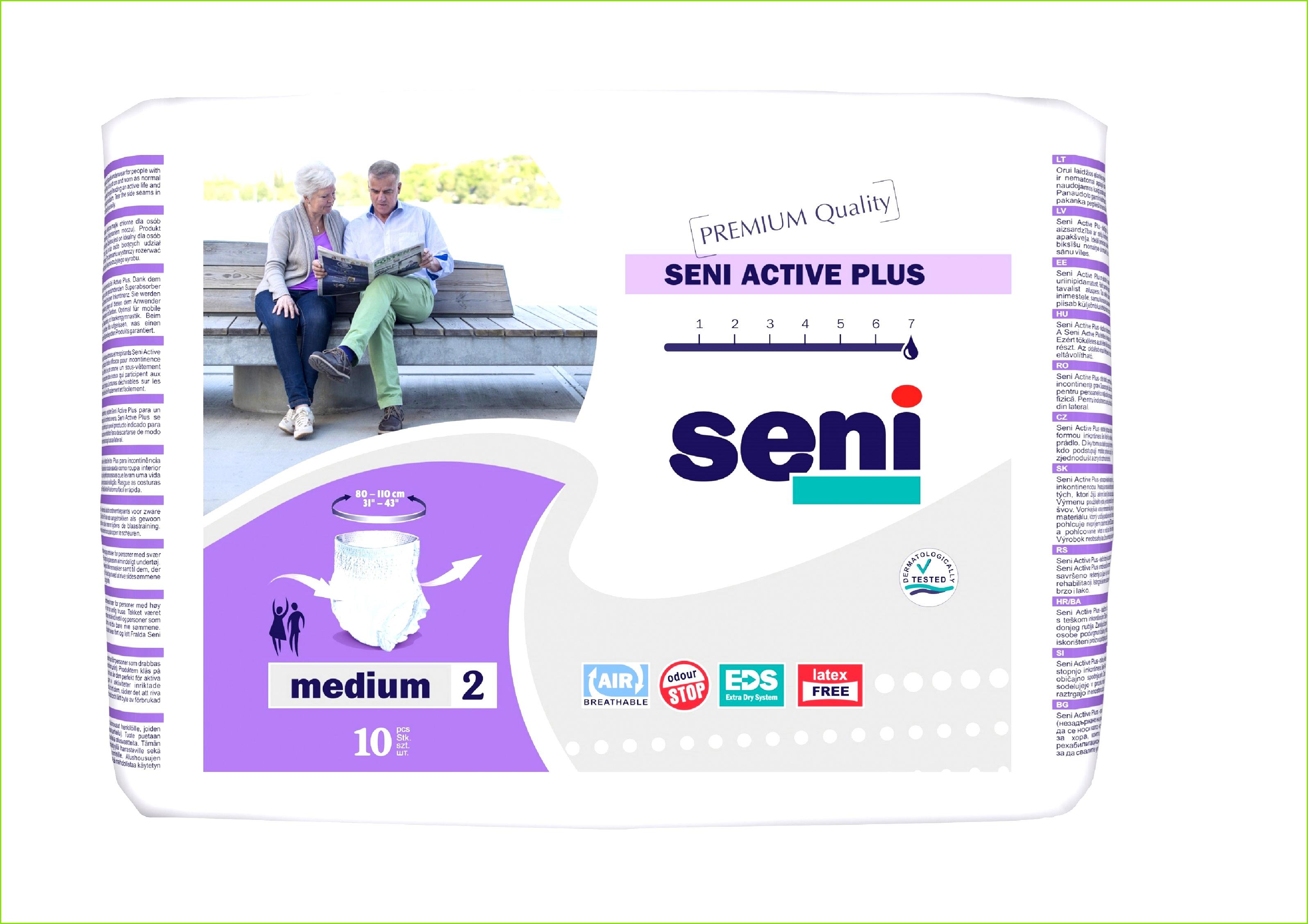 Seni Active Plus M 80 Stück Inkontinenz Fachhandel Inkoservice – Vorlagen Inkontinenz