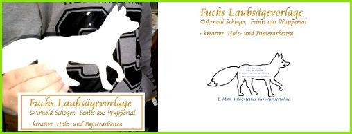 Gratis Fuchs Laubsägevorlage kostenlose Laubsäge Vorlagen für Kinder