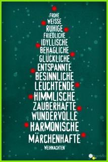 Weihnachtsgrüße  Sprüche zu Weihnachten en